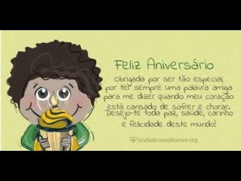 Feliz Aniversario - Menino Amarelo