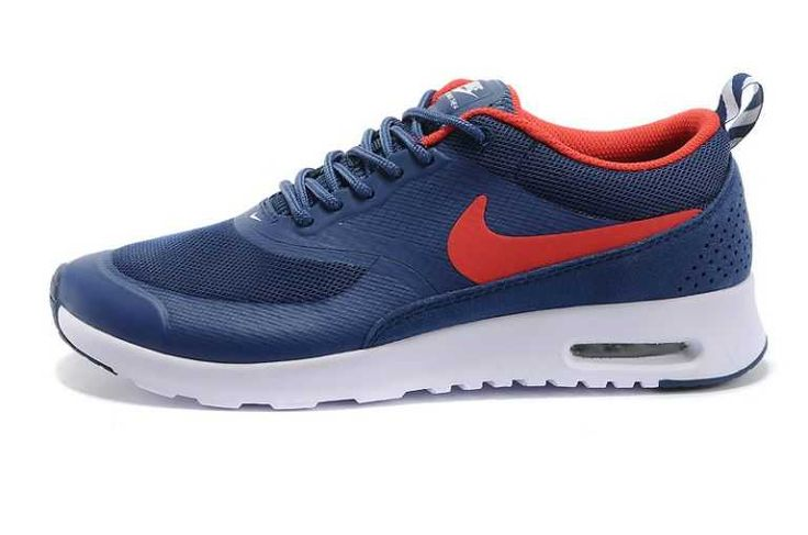 UK Market - Nike Air Max Thea Mens Navy Red Trainers