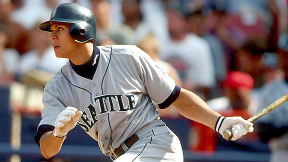 At age 20 in 1996, Alex Rodriguez boasted a 9.2 WAR for the Seattle Mariners.