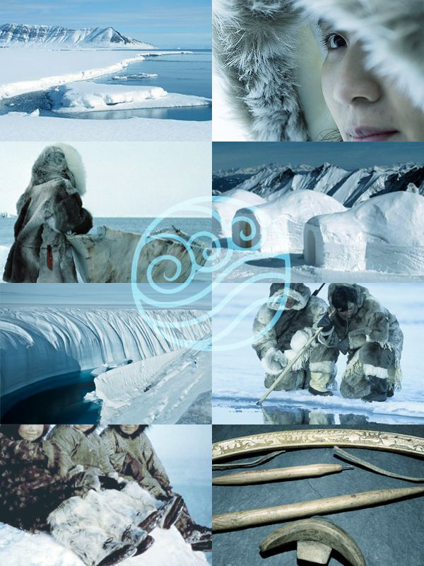 The cultures which inspired Avatar: The Last Airbender Water Tribe - The Inuit