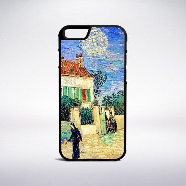 Vincent Van Gogh - White House At Night Phone Case – Muse Phone Cases