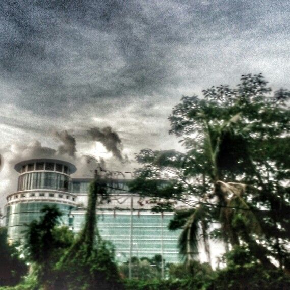 Building & Sky - West Jakarta. HDR & Dramatic Effect.