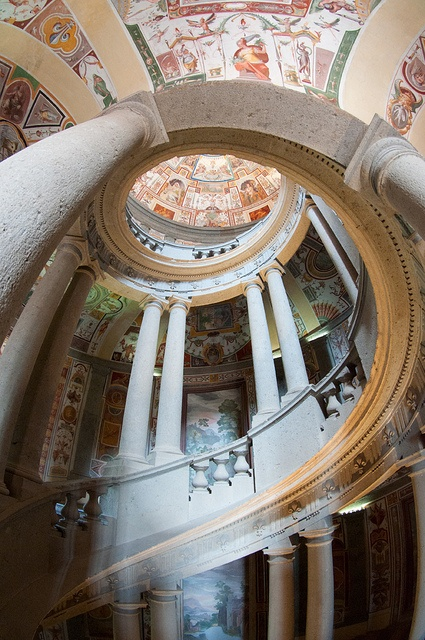 Caprarola (VT) Palazzo Farnese Scala interna by Andrea Biagianti, via Flickr