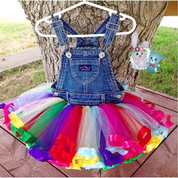 Traje de cumpleaños: Arco iris Vestido de por BunnyAndBear4IG