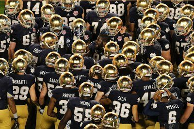 Notre Dame football | NBC | Fall is approaching and that means one thing...COLLEGE FOOTBALL.  GO IRISH!