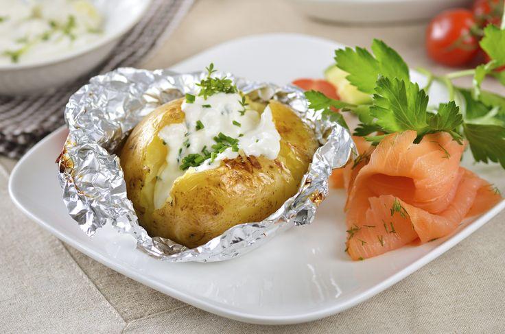 Patate al forno e mascarpone