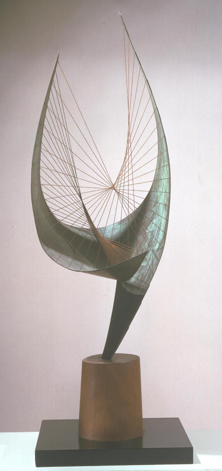 Dame Barbara Hepworth 'Orpheus (Maquette 2) (Version II)', 1956, edition 1959 © Bowness