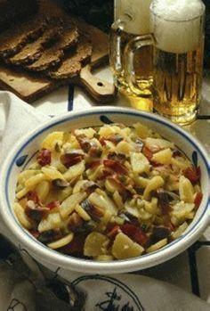 Schlesischer Kartoffelsalat mit Matjes Rezept