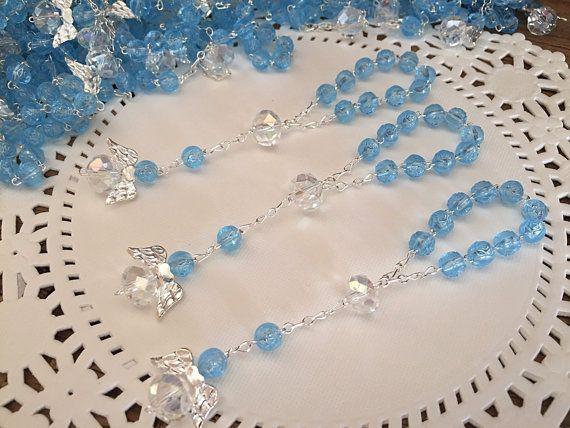 30 pcs Angel baptism favors/ blue communion by WEDDINGLASSOS