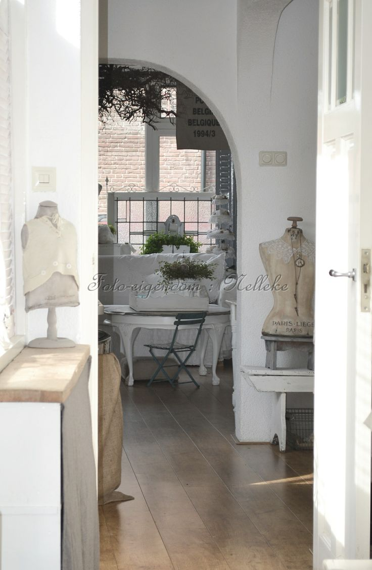 Stukje van de hal foto reportage van ons huis voor het tijdschrift shabby style 2013 - Tijdschrift chic huis ...