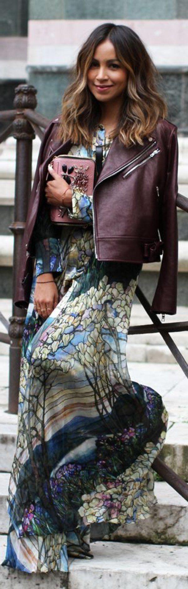 Les 25 meilleures id es concernant tenues avec veste en cuir sur pinterest mode l gante - Tenue avec jupe en cuir ...