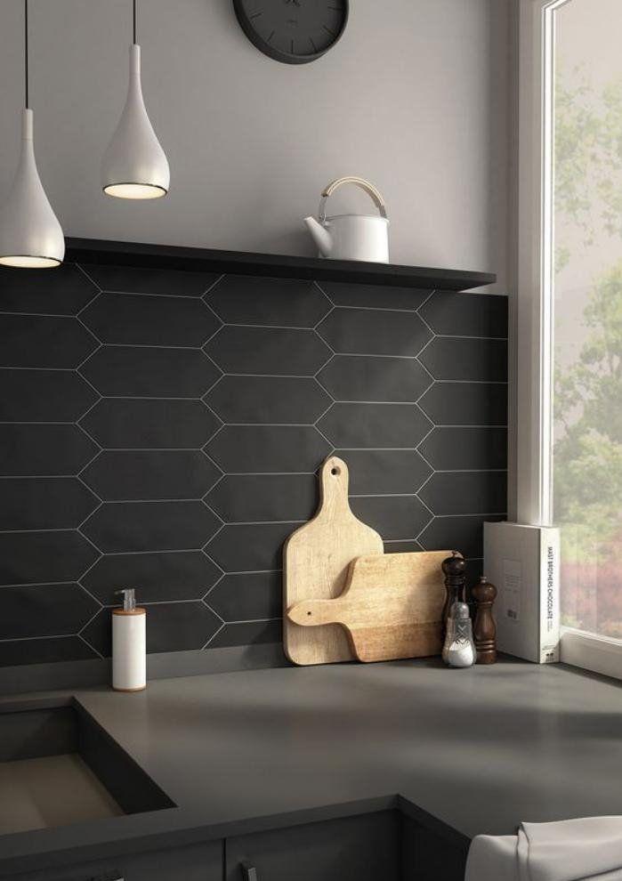 Best 25 hex tile ideas on pinterest for Carrelage noir mat