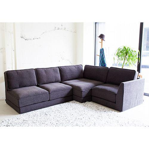 クアットソファ QUATT sofa - フランネルソファーのソファ通販 | リグナ