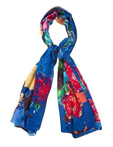 Desigual Lua - Foulard - Imprimé - Femme - Bleu (Navy) - Taille unique (Taille fabricant: Taille unique) Desigual http://www.amazon.fr/dp/B00VMB3EWM/ref=cm_sw_r_pi_dp_CEC9vb1RA19HV