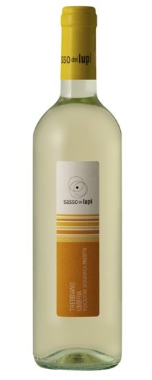Sasso dei Lupi Trebbiano (Umbria, Italy) | Shimmering pale gold colour with a bright, fresh nose of white peach and lemon, and a juicy palate of pear and apple. Offers super refreshment! Try with peach and Parma ham salad.