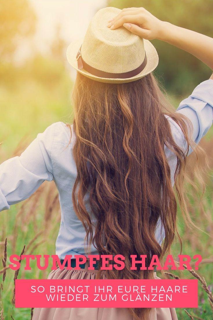 Stumpfes Haar? Mit diesen Tipps bringt ihr eure Mähne wieder zum Glänzen! Mehr dazu erfahrt ihr auf meinem Blog!