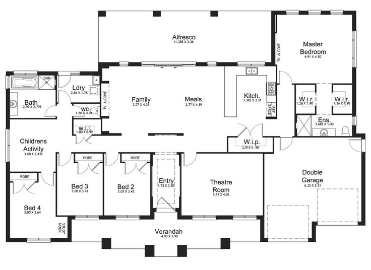 Riverview 35 - Acreage Level - Floorplan by Kurmond Homes - New Home Builders Sydney NSW