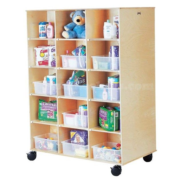 Double Sided Kids Wood Cubbies For Sale! Feature 30 Spacious Storage  Compartments, Perfect