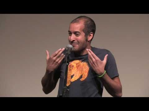 """""""Your hearts are link my hands, sometimes all they do is tremble."""" ANIS MOJGANI performs """"COME CLOSER"""""""