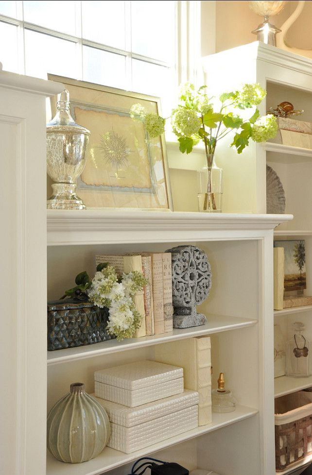 Creative Bookcase Monochromatic Loving Mono Luxe Color Coordinated Bookshelves