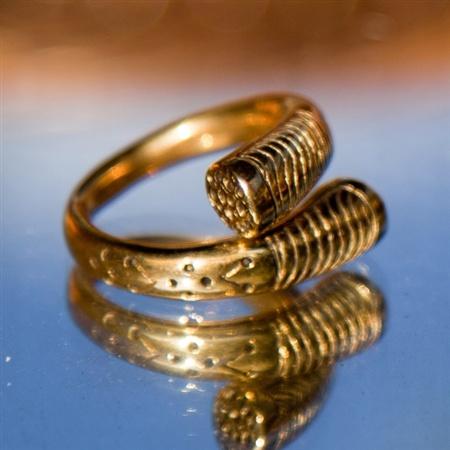 Tuargeg Ring (brass)   by Pantheia   $45