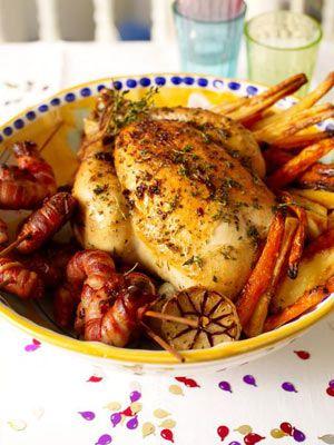 Jamie Oliver's roast chicken