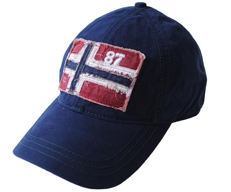 Napapijri Hats Napapijri Faete Cap Blu Marine - Terraces Menswear