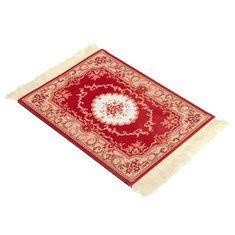 #Banggood 28x18см красный узор стиль богемы персидский ковер коврик для мыши для настольного ПК портативный компьютер (1090061) #SuperDeals