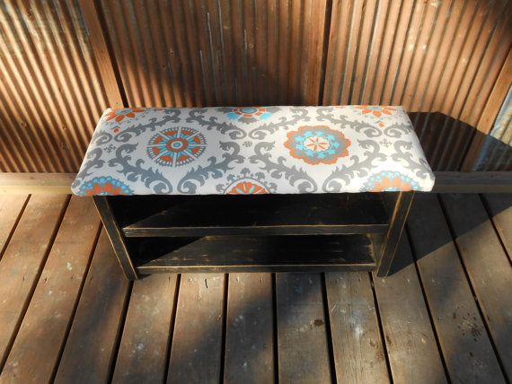 I love this. It would be perfect in my bedroom. Hey, I found this really awesome Etsy listing at https://www.etsy.com/listing/182400387/34-inch-upholstered-top-shoe-rack-bench