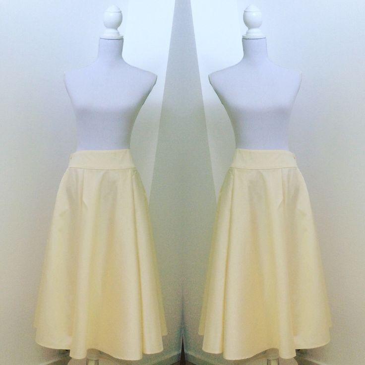 Full Midi Skirt made from Japanese Silk