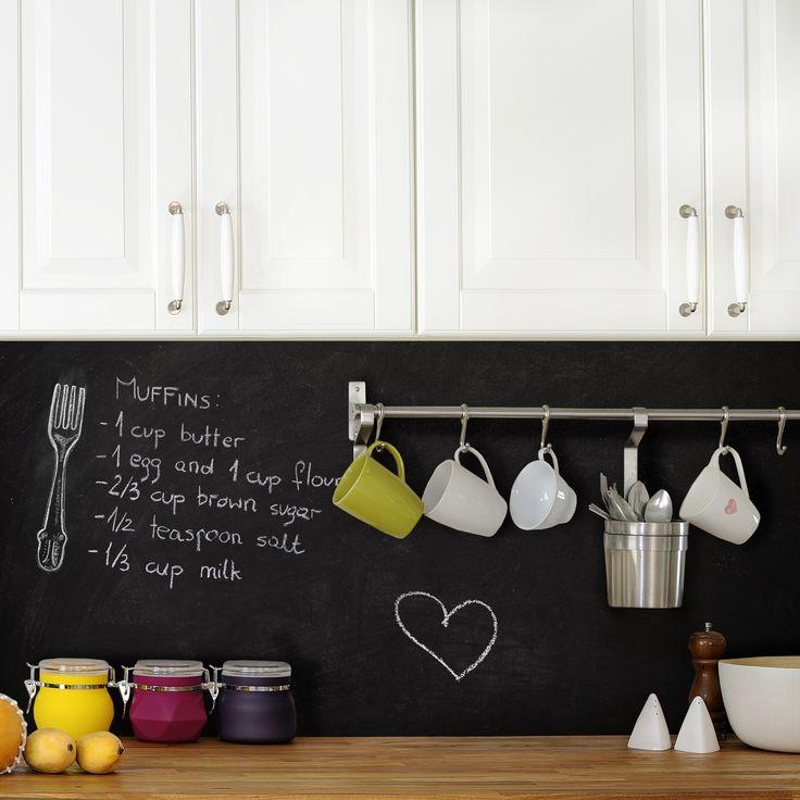 tafelfolie magnetisch trendy zeller present magnettafel. Black Bedroom Furniture Sets. Home Design Ideas