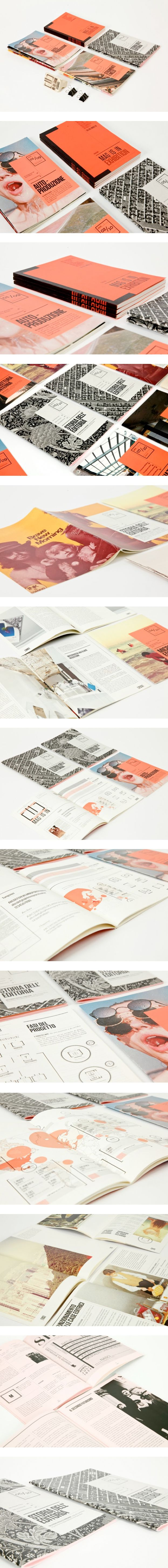 MAG IS IN, designed booklets about independent and self published magazines from all over the world.