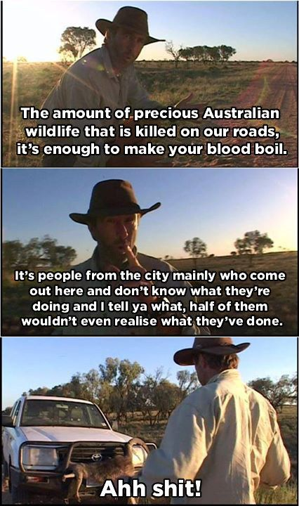 And some are a scourge. | 17 Important Aussie Lessons According to Russell Coight