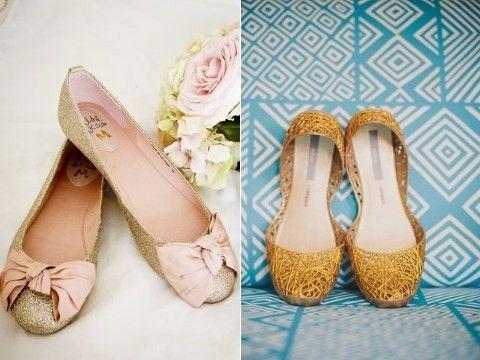 50 Comfort Without Sacrifices: Gorgeous Bridal Flats | HappyWedd.com