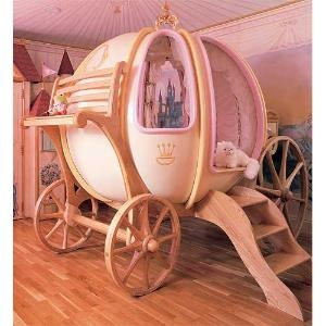 Little girl's dream bed: Kids Beds, Cinderella Bed, Carriage Bed, Dreams Beds, A Little Princesses, Princesses Beds, Little Girls Rooms, Daughters, Little Girls Bedrooms