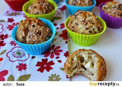 Slané muffiny recept - TopRecepty.cz