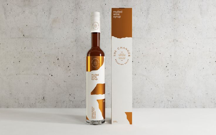 The Changer Syrup Packaging designed by MAKEBARDO