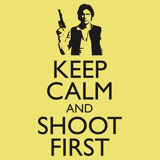 Damn straight: Keep Calm, Damn Straight