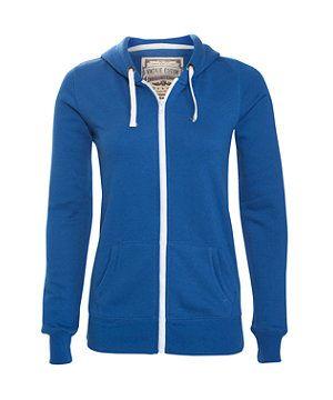 Blue (Blue) Dark Blue Zip Up Hoodie | 257902440 | New Look £14.99