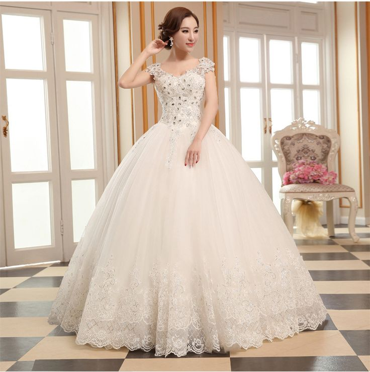 Find More Wedding Dresses Information about 2015 new hot sale Sleeveless luxury sexy backless elegant  beach  waist  lace plus size white beading wedding dress strapless,High Quality wedding dress ladies,China wedding dress with colour Suppliers, Cheap wedding dress for groom from Playful beauty department store on Aliexpress.com
