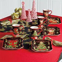 Vintage Christmas Dinnerware