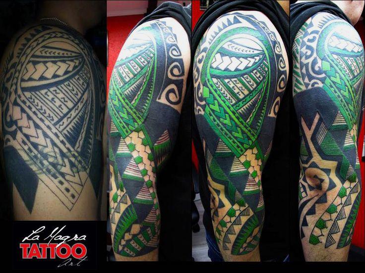 #maori #tattoo #polinesian #tribal #cover #correction