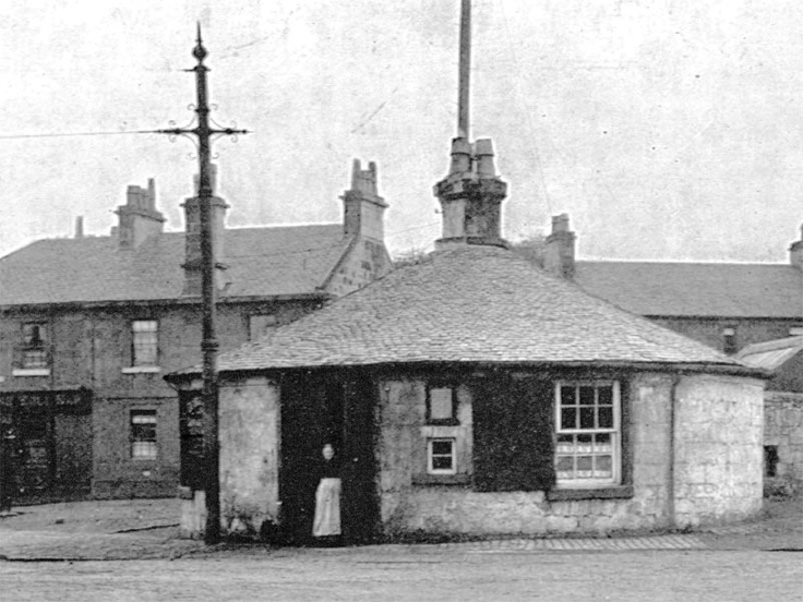 Roundhouse at Pollokshaws, 1910