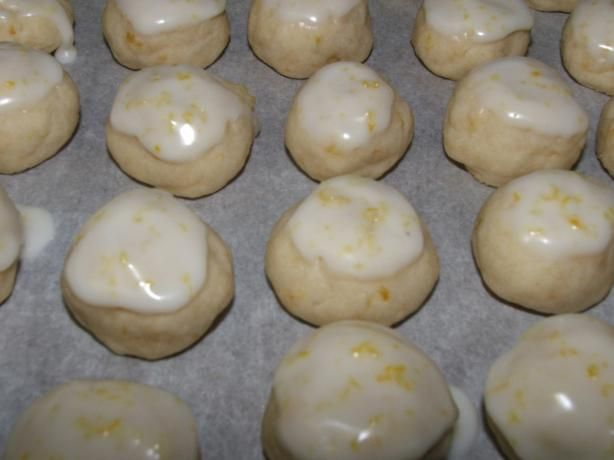 Melt-In-Your-Mouth Lemon Drop Cookies