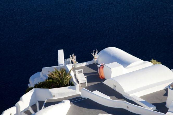 #wedding at #Katikies hotel Santorini event planning and Design StellaAndMoscha.com