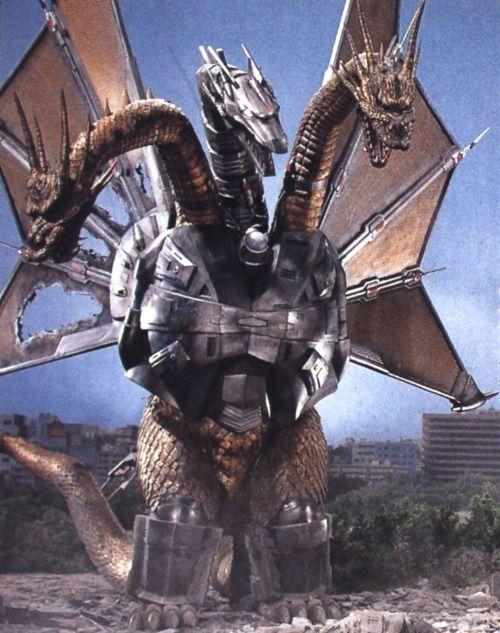 Mecha-King Ghidorah from Godzilla vs Ghidorah.