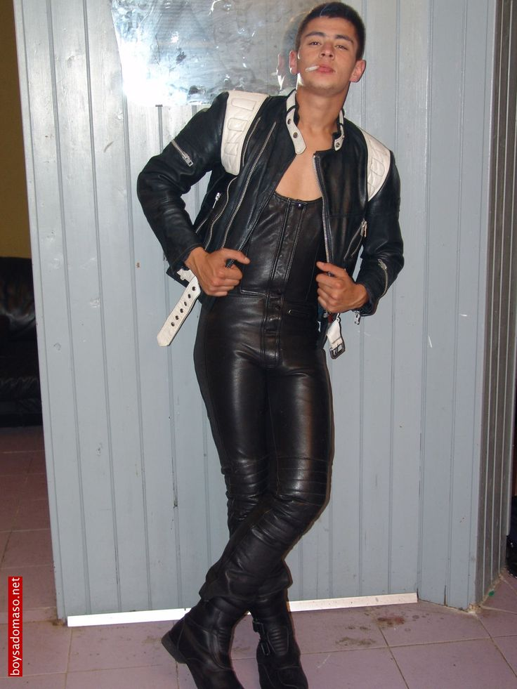 Pin On Boys In Leather-4235