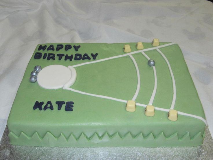 shot put birthday cake :)