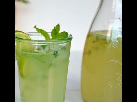 Honig Limonensaft Getränk