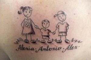 12 Idéias de tatuagem bonitas para homenagear seus filhos   – Tatuagem